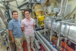 Adam Weber and Jeffrey Urban at ALS SAXS/WAXS Beamline 7.3.3.