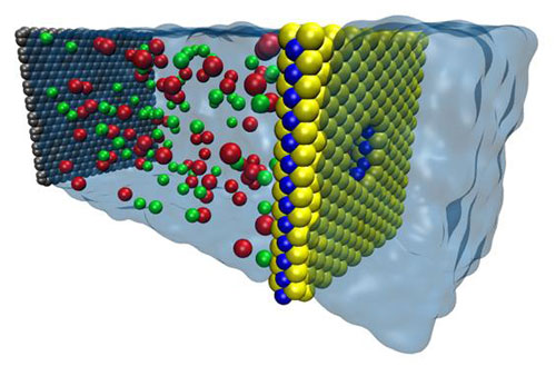 Nanoposres Seawater id41830