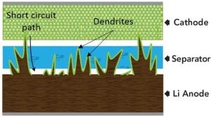LI Dendrite separator
