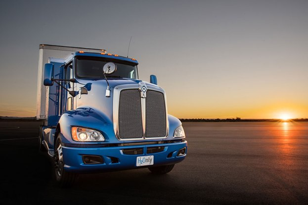 Hydrogen Truck Project-Portal-Toyota-fuel-cell-truck-full-grille