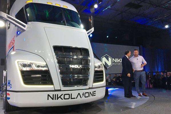 Nikola I Trevor-Milton-Nikola-Motor-CEO-on-truck