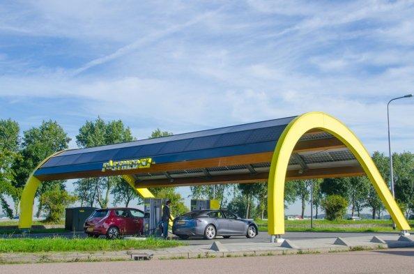 Fastned-EV-fast-charging-station-