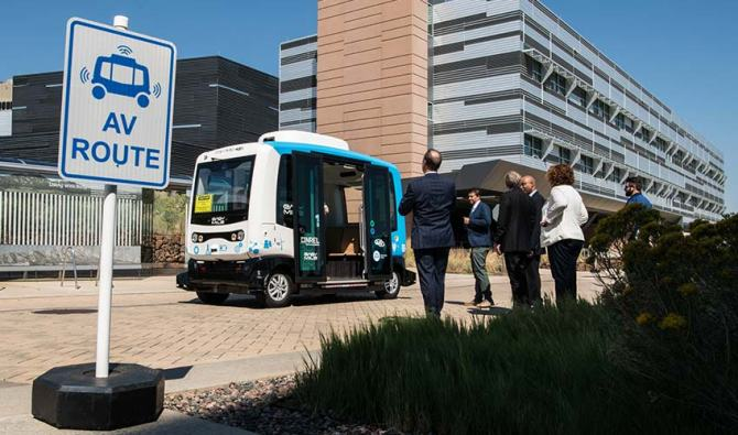 NREL Auto EV CaMPUES 20190910-autonomous-vehicle-celebration